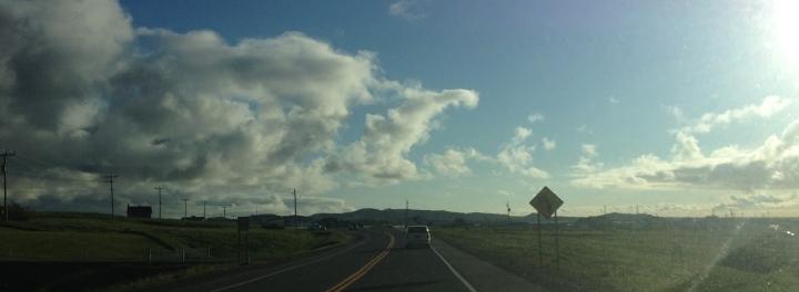 Les îles dans les nuages